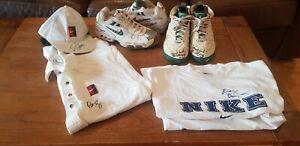 Huge tennis memorabilia lot. Sampras,McEnroe match worn signed shoes, shirts etc