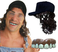 Billy Bob's Big Hillbilly Kit Costume Set Novelty Redneck Teeth and Hat Only