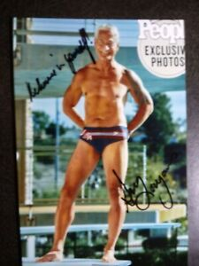 GREG LOUGANIS Hand Signed Autograph 4X6 Photo - OLYMPIC GOLD MEDAL DIVER