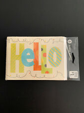 Note Cards Hello American Greetings 8 new package blank inside Tender Thoughts