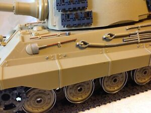 Tamiya 1/16 king Tiger Tank From 1980's New Condition