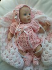 CUTE OUTFIT  FOR 9 INCH MINI REBORN / POLYMER CLAY  DOLLS