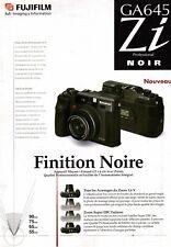 FUJIFILM GA645 Zi - feuillet publicitaire - français -