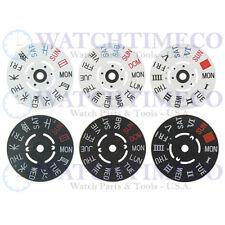 GENUINE SEIKO Day Wheel Disc for SKX007 SKX009 7S26 7S36 NH26 NH36 4R36