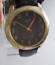 CITIZEN Quartz Black Faced & Band Watch - as is