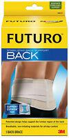 Futuro Stabilizing Back Support Lumbar Region Breathable Non-irritating Mat S-XL