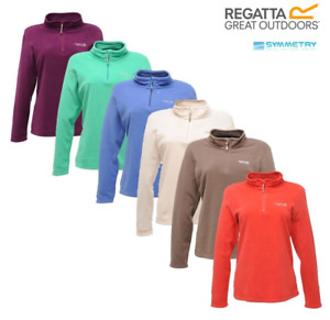 Regatta Womens Sweethart Fleece Half Zip Micro Pullover Jumper Outdoor Ladies