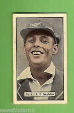 1936-1937 ALLEN'S CRICKET CARDS #8  J. H. FINGLETON