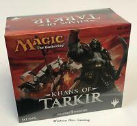 MTG Magic Khans of Tarkir Fat Pack NEW Includes 9 Booster Packs!