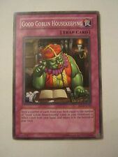 Yu-Gi-Oh Good Goblin Housekeeping FET-EN054 Trap Card  VG Condition (011-70)
