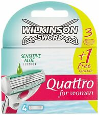 Wilkinson Sword Quattro for Women Razor Blades - X 2 Boxes of 3