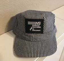 59e655ed67c Engineer Conductor Cap Hat-(NS)Norfolk Southern  2 -adjustable
