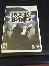 Rock Band (game only) (Wii, 2008) - Complete!!!!!