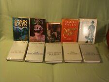 Simon Raven.  10 titles.