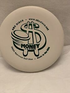 Money Putter ABC Discs  PDGA Approved Golf Disc, 169 grams USA White