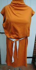 Kleid - Jersey Gr.- 46 -  Escada Sport - orange -  Neuware