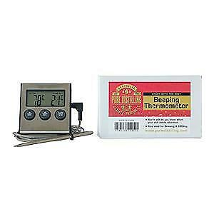 NEW Distilling Thermometer with Alarm