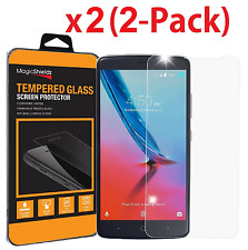 2-Pack Tempered Glass Screen Protector For ZTE MAX XL N9560 / ZTE Blade MAX 3