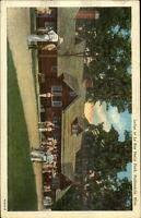 Hallandale MS Lodge at Le Roy Percy Park Postcard