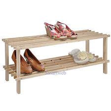 Schuhschrank Holz Schuhregal Schuhablage Schuhgarderobe Garderobe für bis 6 Paar