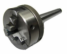 45MM 3 - JAW LATHE CHUCK MT1 TAPER FOR EMCO LATHE