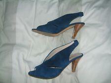☼ MINELLI,  escarpin bleu, cuir/daim, pointure 40, NEUF , valeur 109 euros ☼
