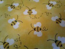 New ListingBuzz Buzz Bee Fabric Scrap Quilt Sew Craft