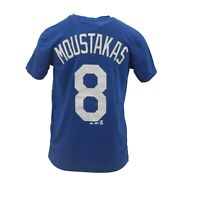 Kansas City Royals MLB Majestic Cool Base Youth Mike Moustakas Athletic T-Shirt