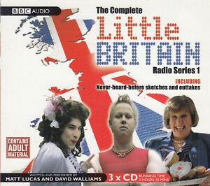 Little Britain Complete BBC Radio Series 1 3CD Audio Comedy Matt Lucas Walliams