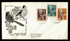 DR WHO 1959 NETHERLANDS NEW GUINEA FDC BIRDS  158744