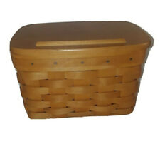 2003 LONGABERGER Recipe Box Basket w/lid