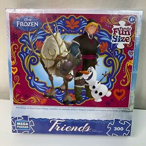 Mega Brands Disney Frozen Friends Jigsaw Puzzle Spring Is In The Air 300 PC NEW