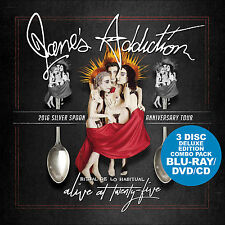 JANE'S ADDICTION New 2017 LIVE 25th ANNIVERSARY CONCERT BLU RAY & DVD & CD SET