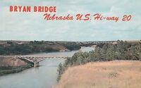 LAM(X) Valentine, NE - Bryan Bridge Over the Niobrara River- Bird's Eye View