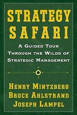 Strategy Safari: A Guided Tour Through The Wilds of Strategic Management by Min
