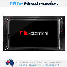 "NAKAMICHI NA1610 BLUETOOTH 6.2"" DVD USB CAR STEREO CD PLAYER MULTIMEDIA HEADUNIT"