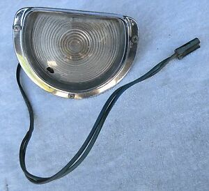 BUICK ELECTRA 225 LESABRE PARK TURN SIGNAL LIGHT LENS COVER HOUSING 1963