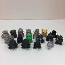 17pcs Set Godzilla Finger Puppet Figure Hedorah Gigan Kaiju BANDAI JAPAN