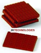 Efe 99617 Rouge Briques Simple Couche X 5 1/76th Nouveau Pack
