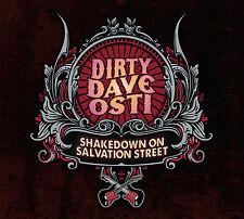 DIRTY DAVE OSTI - SHAKEDOWN ON SALVATION STREET CD (KILLER HEAVY GUITAR ROCKER)