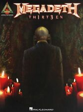 Megadeth TH1RT3EN 13 Thirteen Learn to Play Rock Metal Guitar TAB Music Book