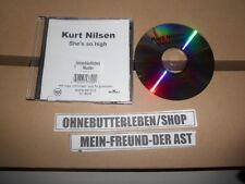 CD Pop Kurt Nilsen - She's So High (1 Song) Promo BMG