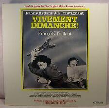 Georges Delerue VIVEMENT DIMANCHE! Mint French Import Soundtrack LP