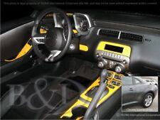 Dash Trim Kit for CHEVROLET CAMARO 10 11 carbon fiber wood aluminum