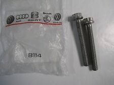 2pk Audi N 911 296 01 Start Mount Bolts for A4 A5 A6 Q5 RS5 RS7 S4 S5 S6 S7 NEW