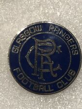 Vintage Glasgow Rangers Scotland Soccer Football Team Lapel Pin Free Ship in USA