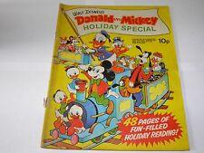 Walt Disney Donald and Mickey - Holiday Special 1972 Rare