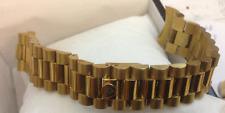 Cavadini-Massive-ACCIAIO INOX IPG-dorato bracciale orologi 20 mm Schmett. - daccordo