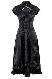JAWBREAKER GOTHIC VICTORIAN STEAMPUNK PROM MADAME OF THE HOUSE DRESS DRA8204