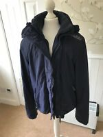 SUPERDRY PROFESSIONAL THE WINDCHEATER YOUNG MEN'S HOODED JACKET SIZE S